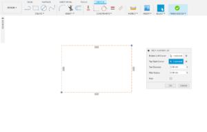 3 Select corners and the tool diameter